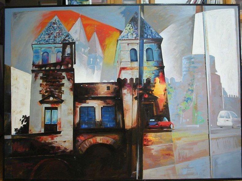 Taller José Ignacio Tenorio, clases de pintura con todo tipo de técnicas en Toledo