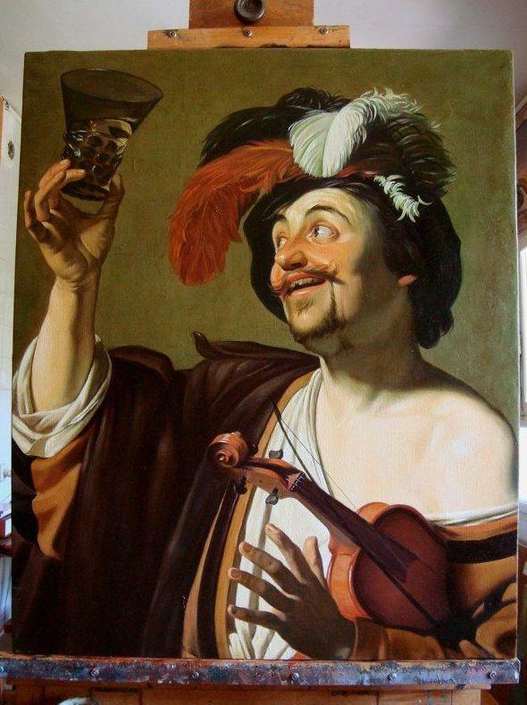 Reproducciones de obras clásicas de la pintura al óleo Toledo