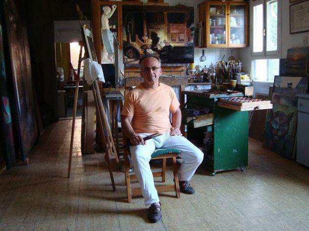 José Ignacio Tenorio, pintor especialistas en copias de grandes obras clásicas Toledo
