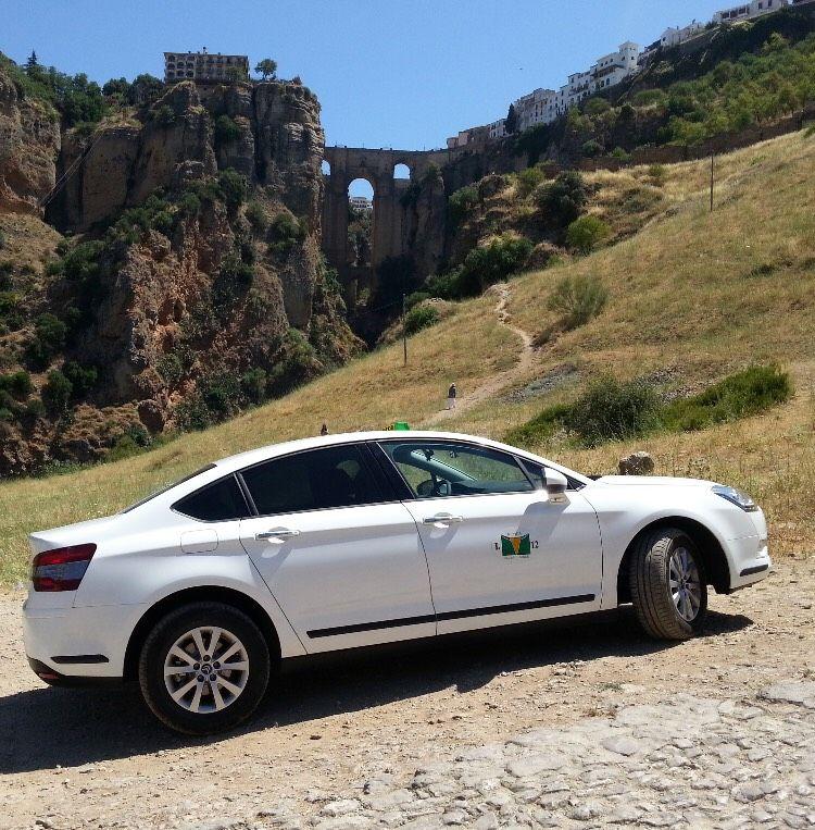Servicio de taxis en Ronda y alrededores
