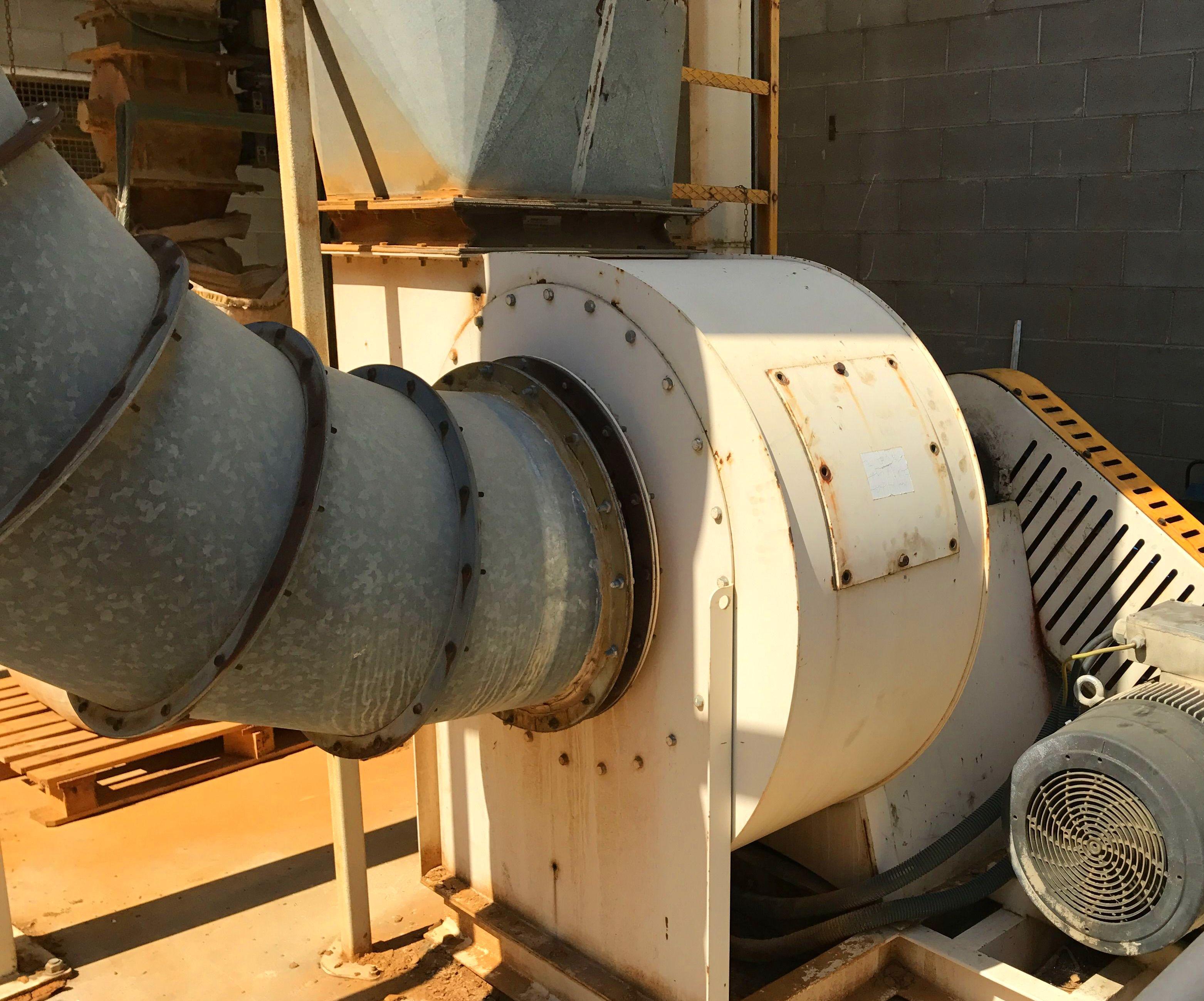 Reparación ventilador aporte de aire