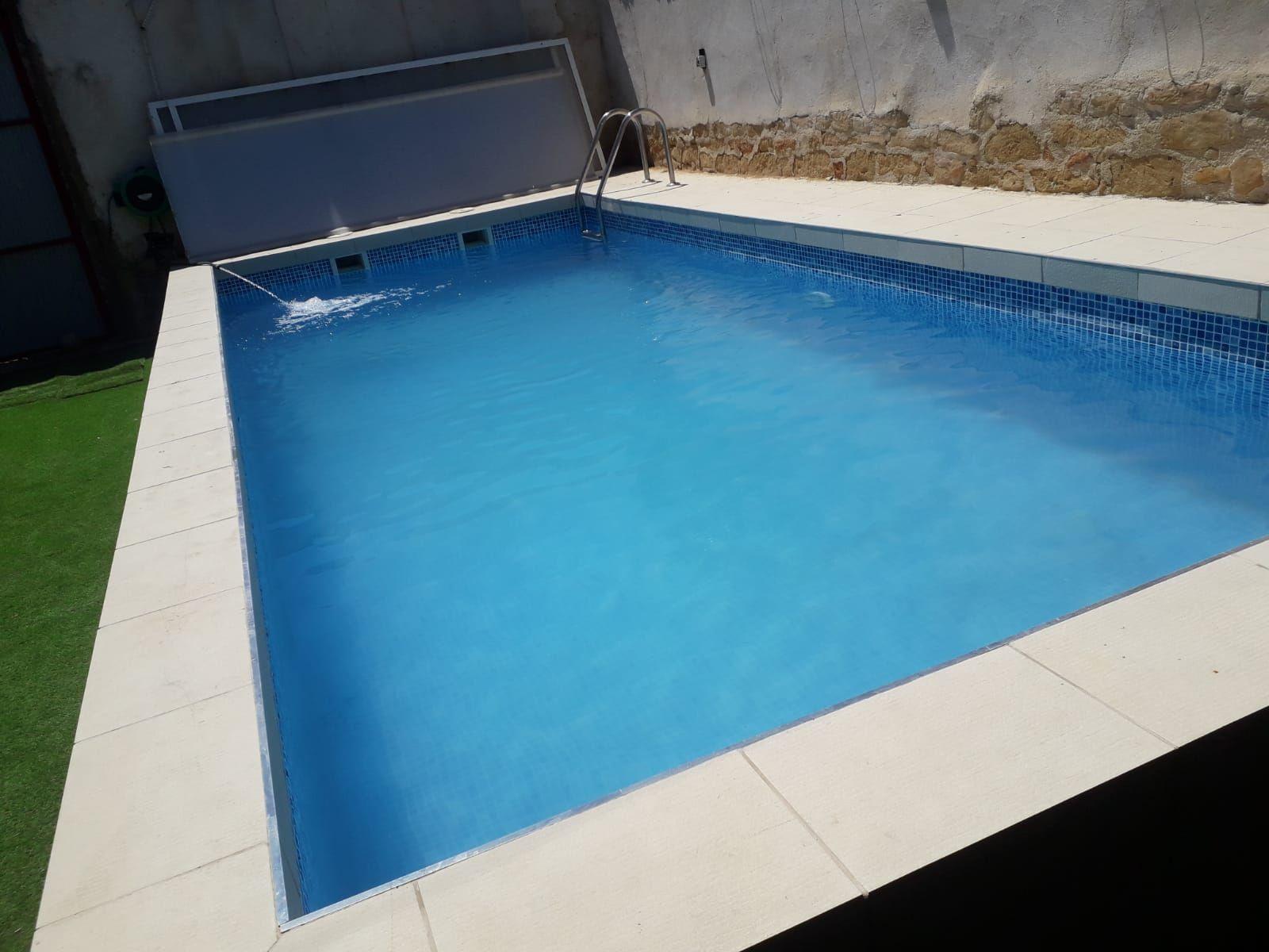 Trabajos de reforma en piscinas en Salamanca