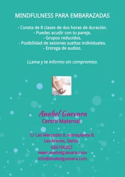 Preparación al parto y mindfulness en el embarazo getxo