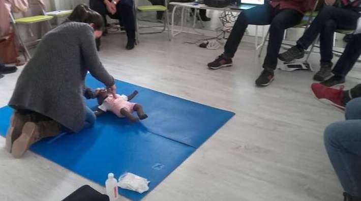 Primeros auxilios pediátricos getxo