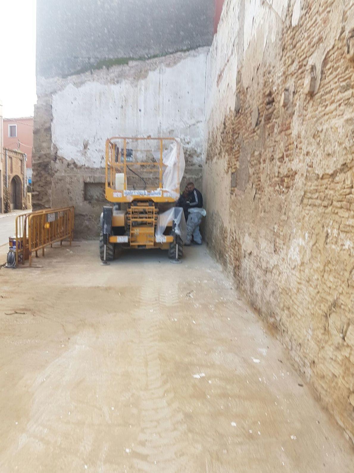 Revestimiento y rehabilitación de fachadas con espuma de poliuretano