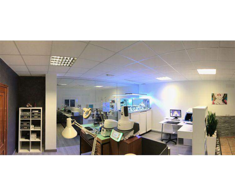 Última tecnología en la realización de prótesis dentales