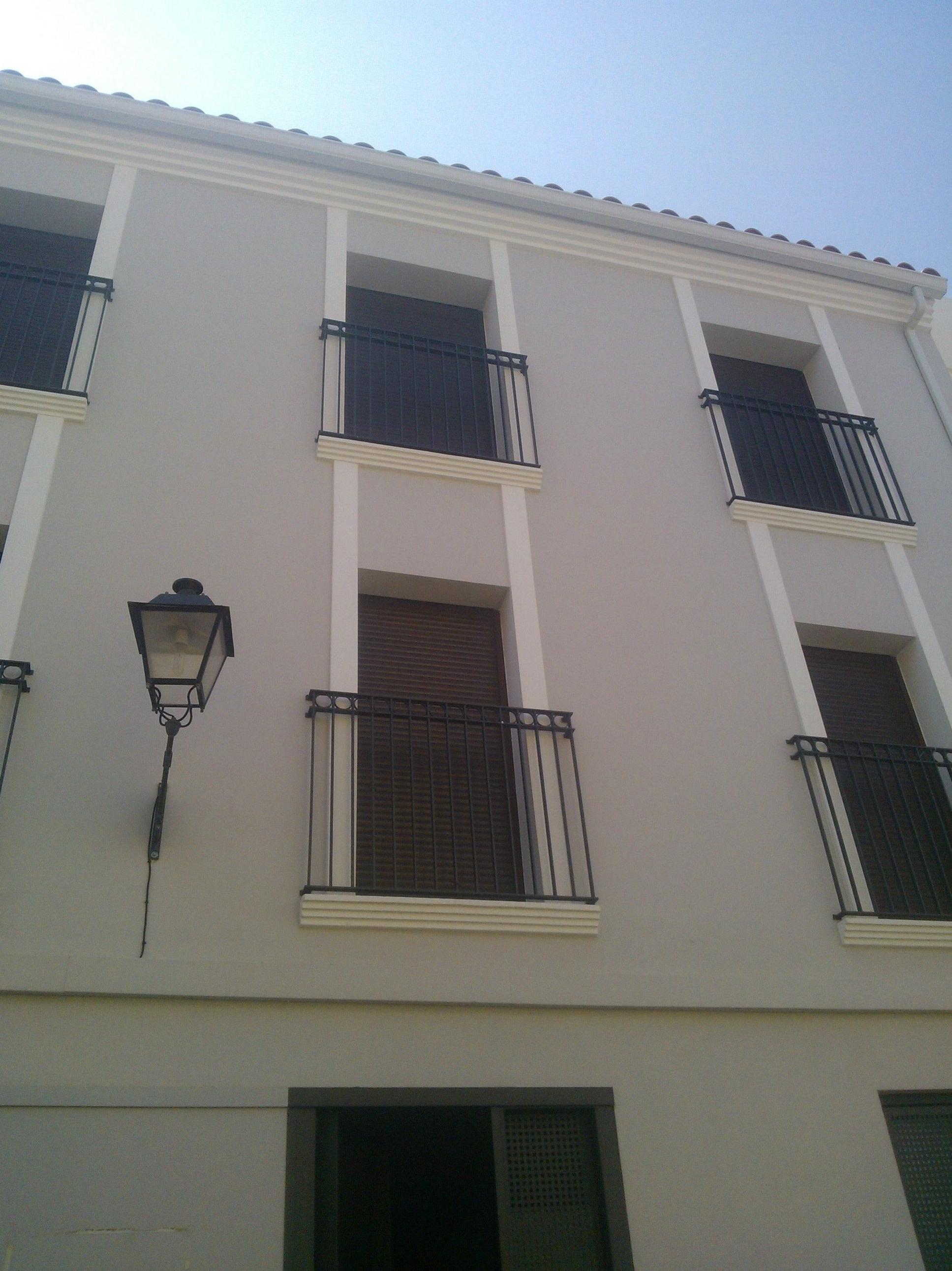 Balcones en calle Colon (Denia)
