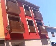 Balcones acero corten calle Quevedo ( Denia)