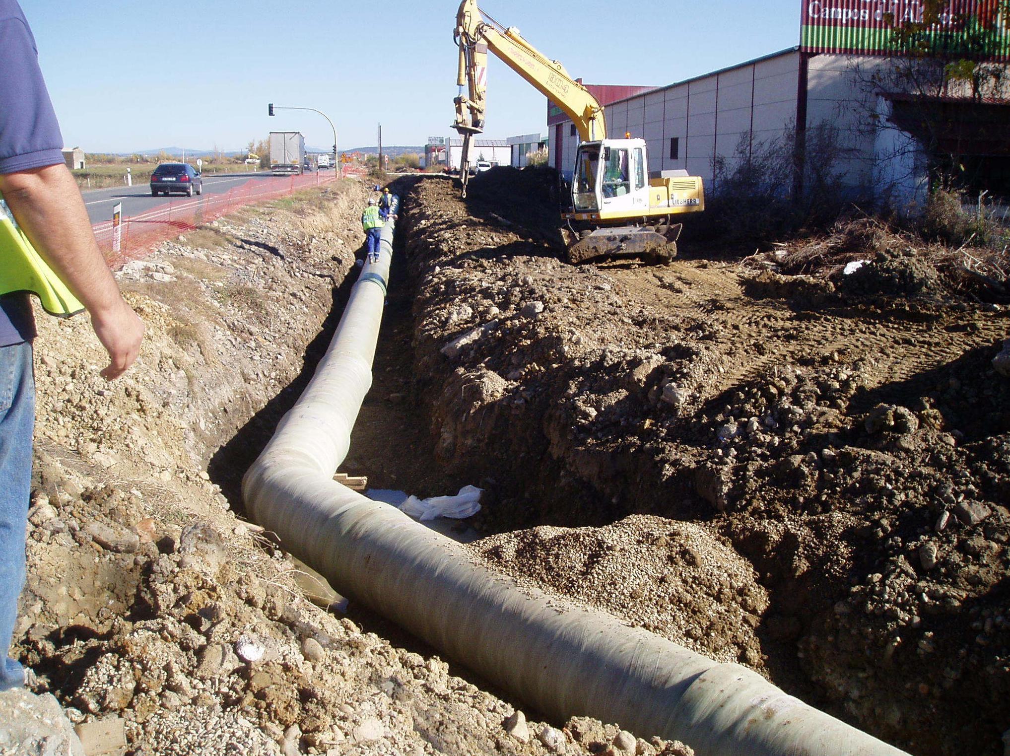Montaje de tuberías PRFV en (Cáceres)
