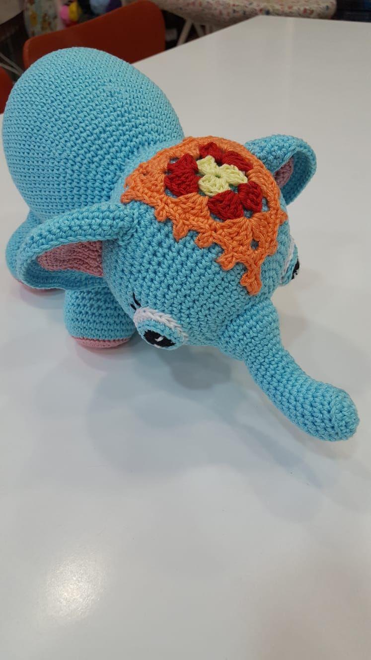 Amigurumi elefante 30€
