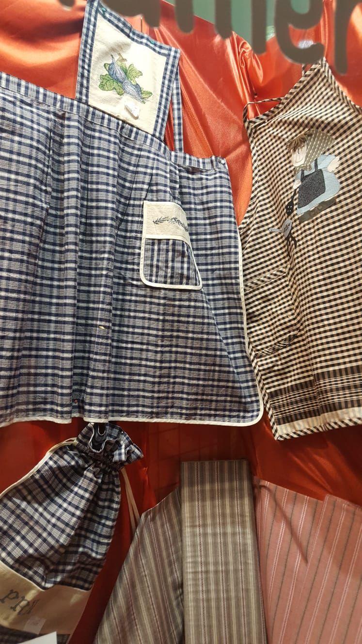 Costura creativa! Delantales, petos y accesorios personalizados
