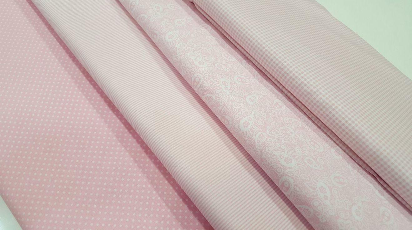 En color rosa , que son muy tiernas para hacer cositas de bebe etc
