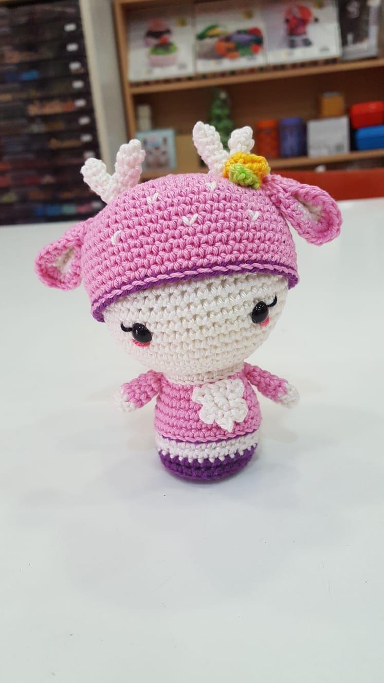 Amigurumi en rosa. El regalo perfecto