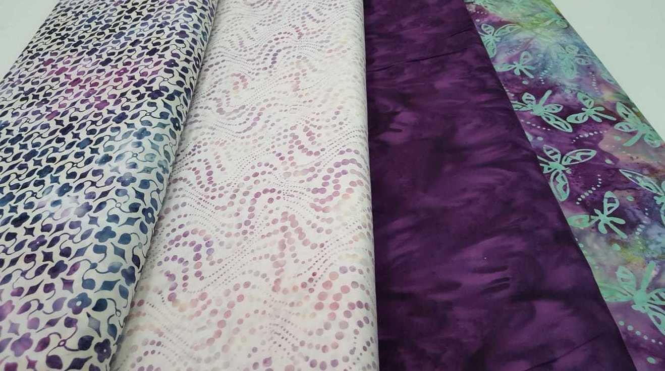 Telas de batik. Ideales para patchwork