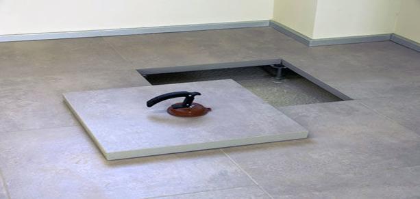 Instalación suelo técnico en Girona