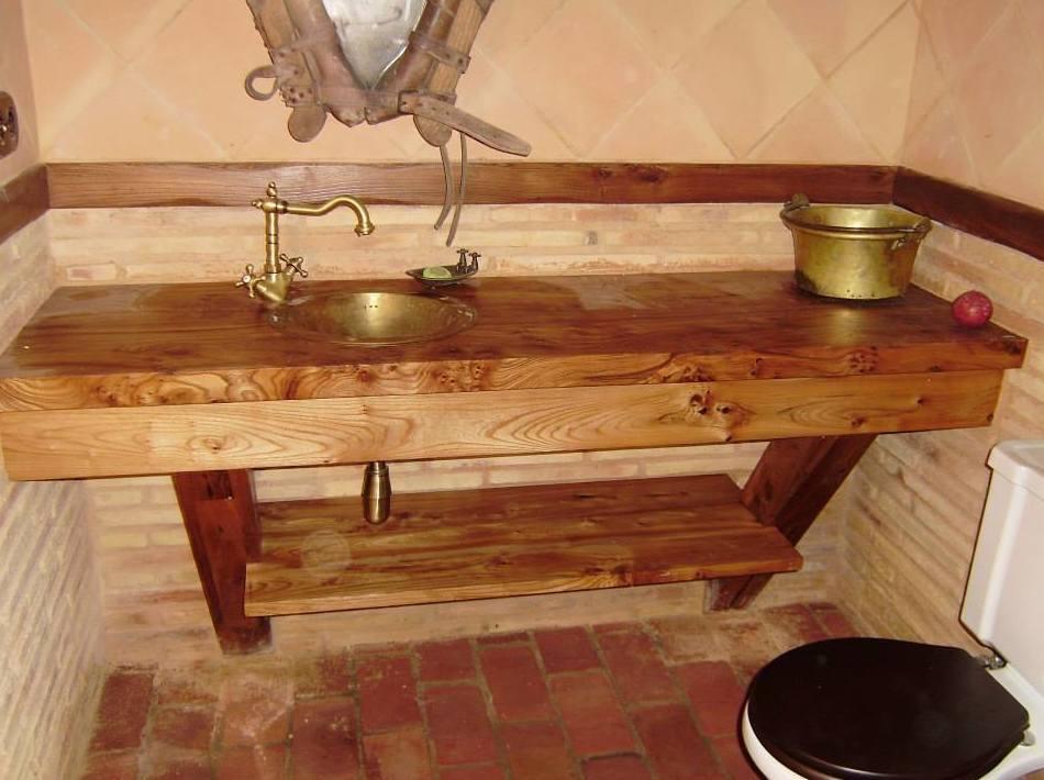 Muebles de madera para cuarto de baño