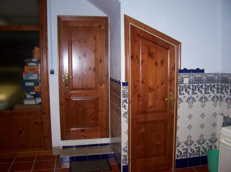 Puertas interiores de vivienda