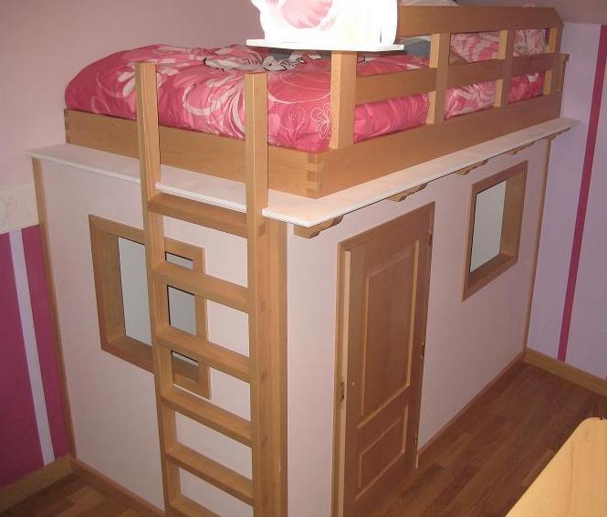 Muebles de madera para dormitorio infantil