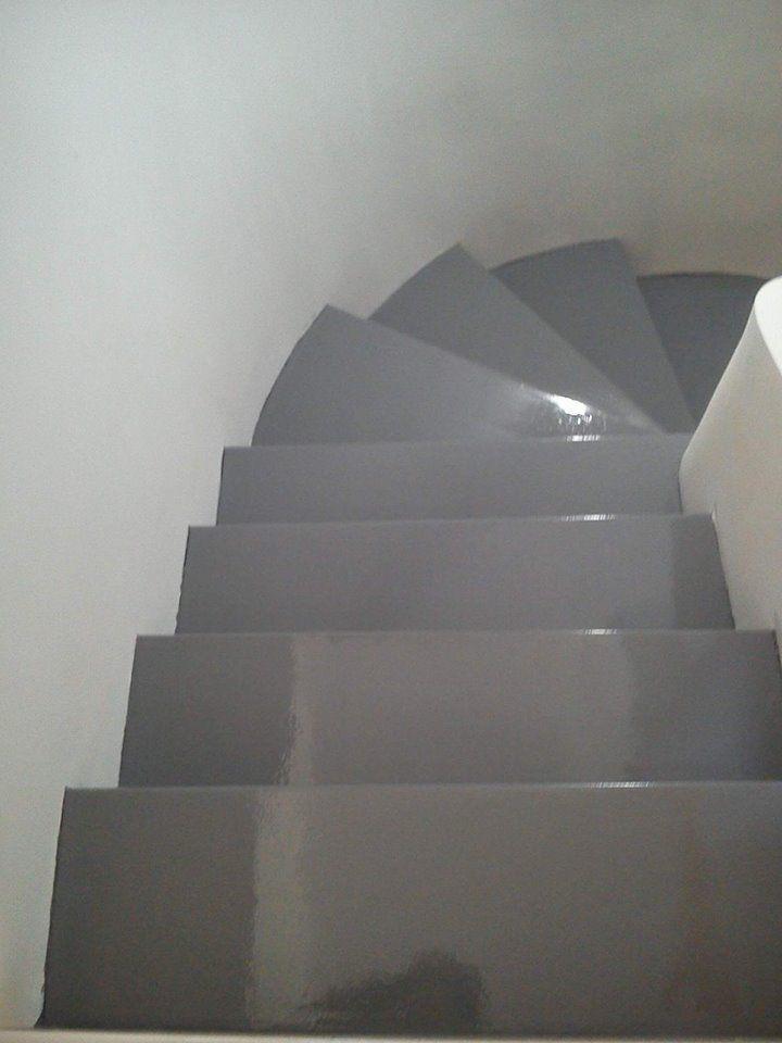 Pintura de suelos y escaleras en Madrid