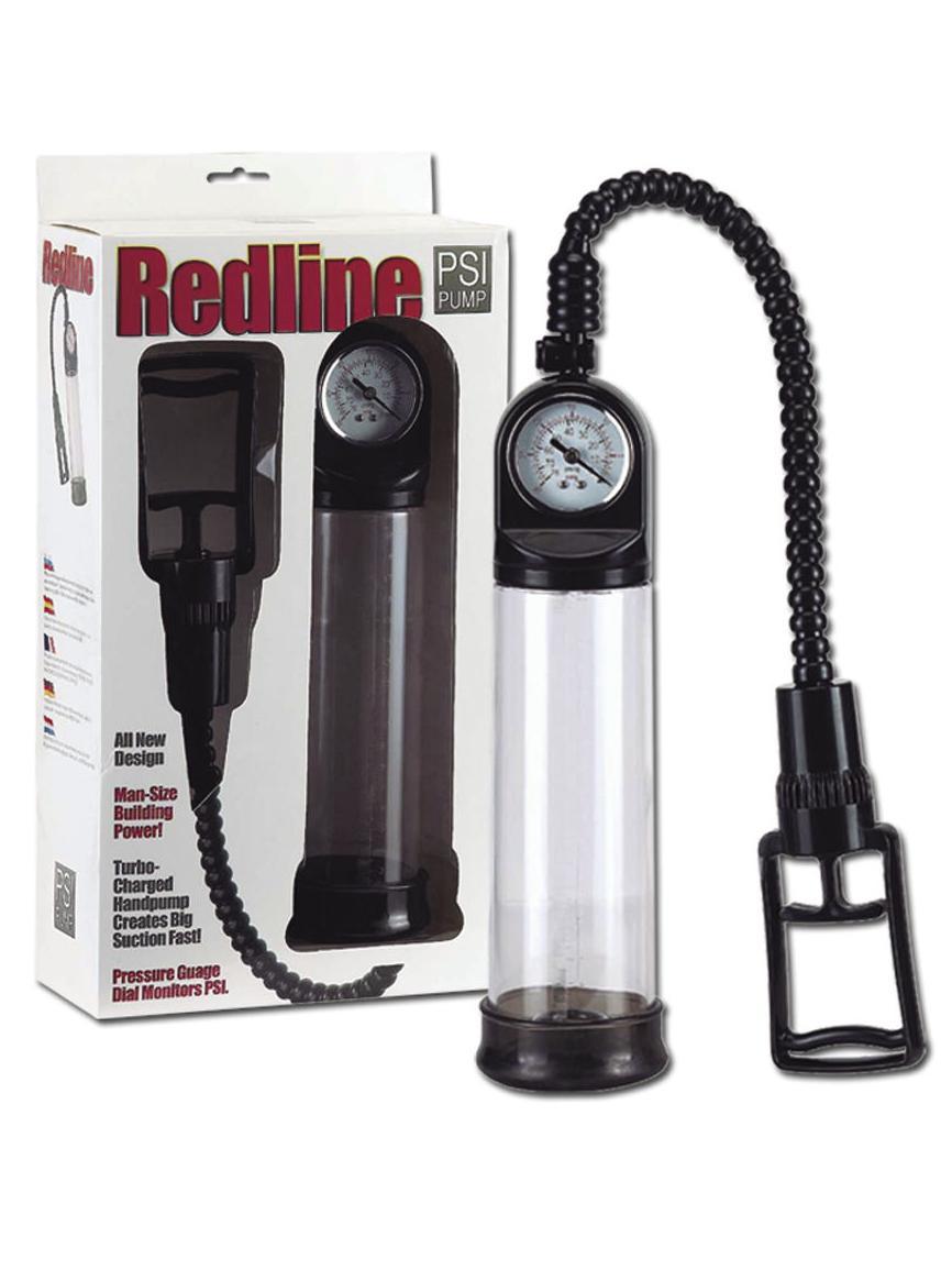 Redline PSI pump. 21 cm con manómetro