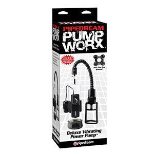 Pump worx bomba de erección vibradora deluxe - Pump worx deluxe vibrating
