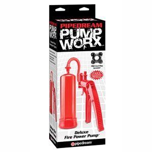 Pump worx bomba de erección fuego deluxe - Pump worx deluxe fire