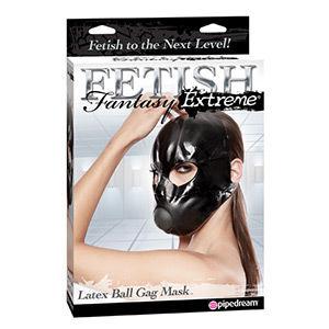 Máscara fetish fantasy extreme con mordaza
