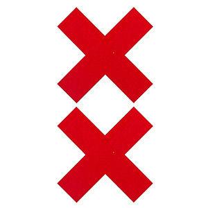 Pezoneras forma cruz: Tienda Erótica Mistery de Tienda Erótica Mistery
