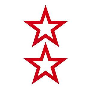 Pezoneras ouch forma estrella central fina roja