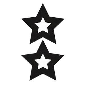 Pezoneras ouch forma estrella central negra