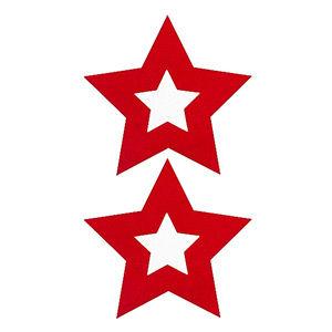 Pezoneras ouch forma estrella central roja