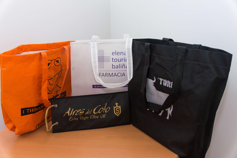 Fabricación de bolsas de tela personalizadas en Madrid
