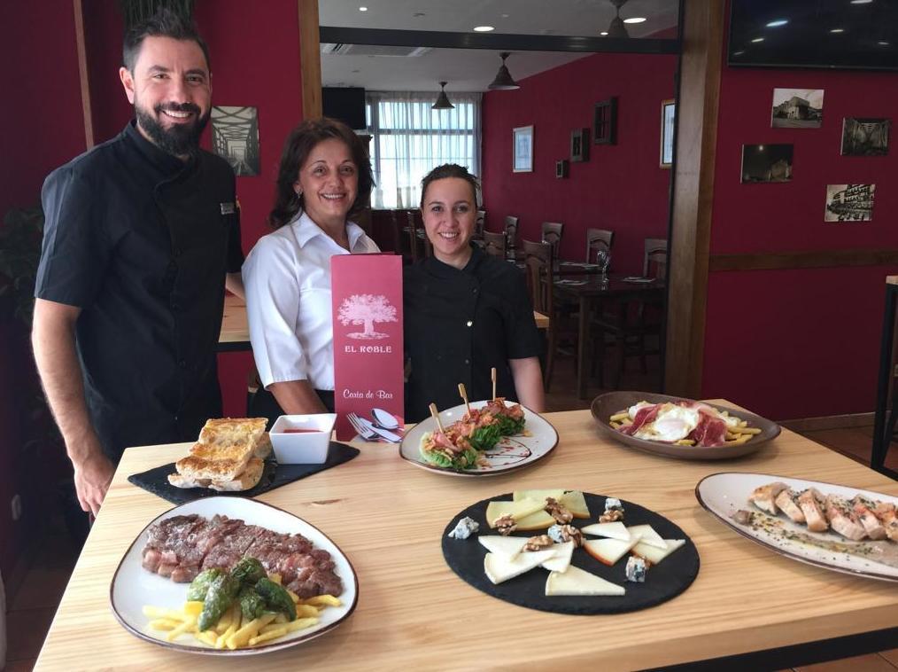 Cartas del Asador 2019: Nuestra Carta de Restaurante El Roble Hotel AB Arganda