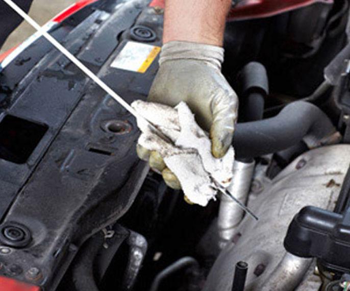 Cambio de aceite: Servicios de Motor Home