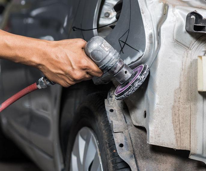 Reparación de chapa de automóviles : Servicios de Motor Home