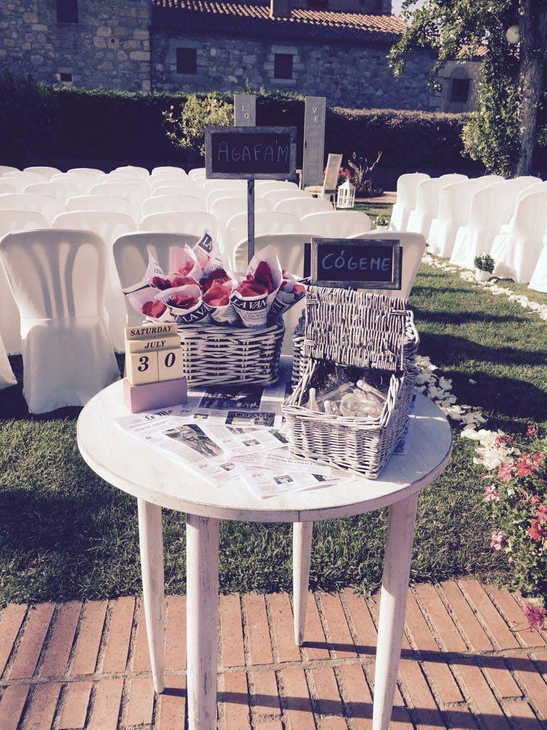 Ideas originales para bodas en Castelldefels, Barcelona