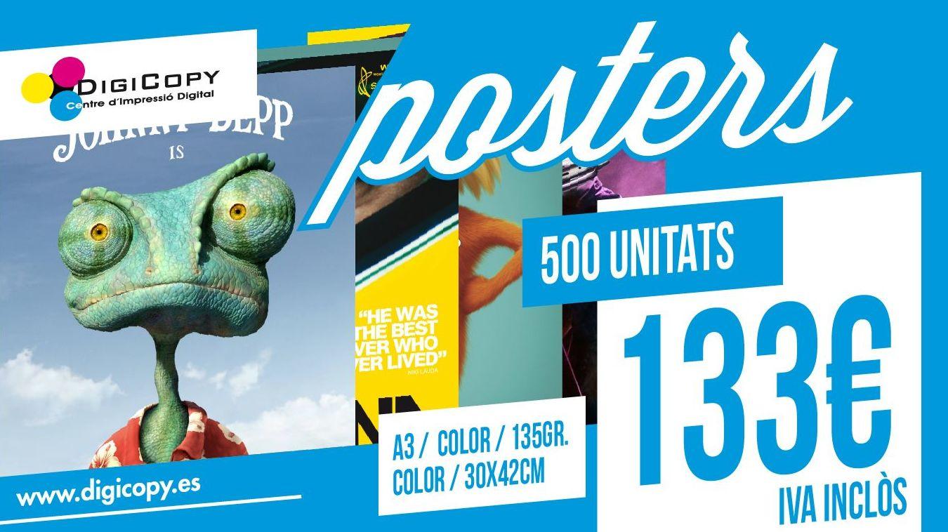Oferta póster A3