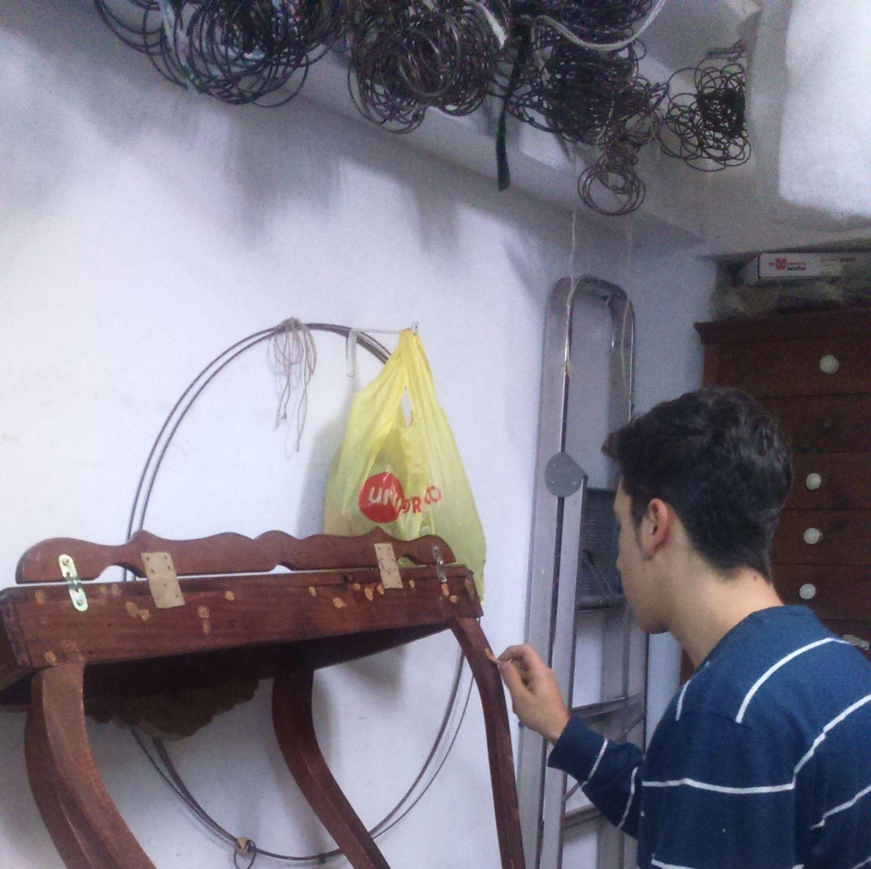 tratamiento de carcoma y restauracion del mueble