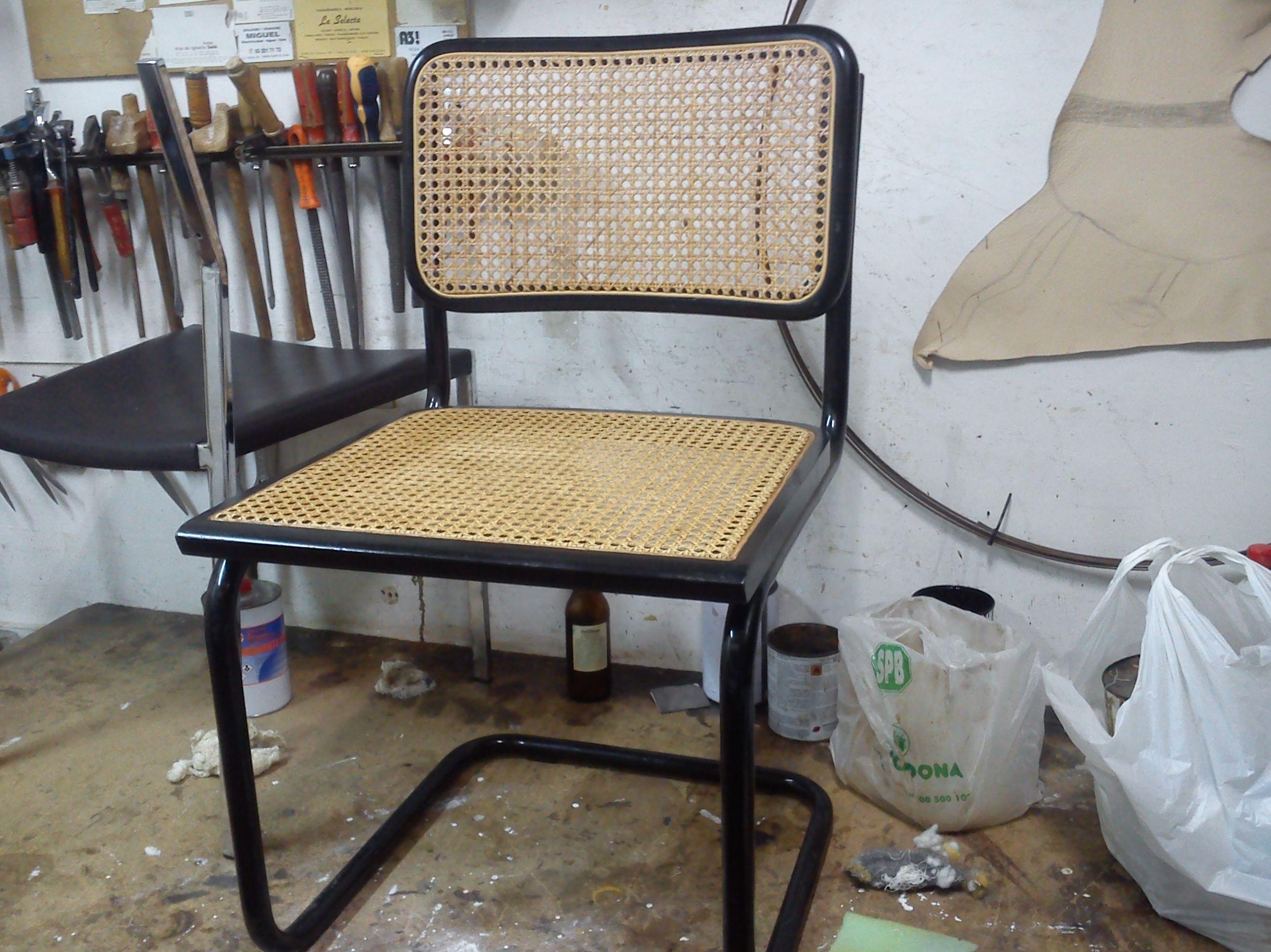 rejilla de silla chesca