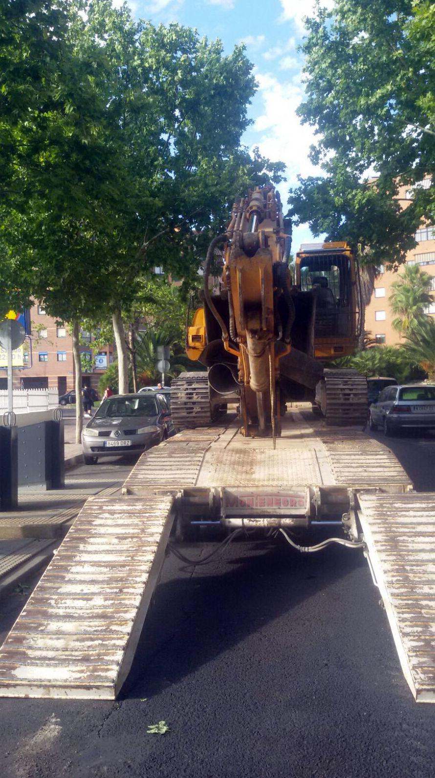 MAQUINARA PARA DERRIBOS Y DEMOLICIONES MADRID-TOLEDO-GUADALAJARA....
