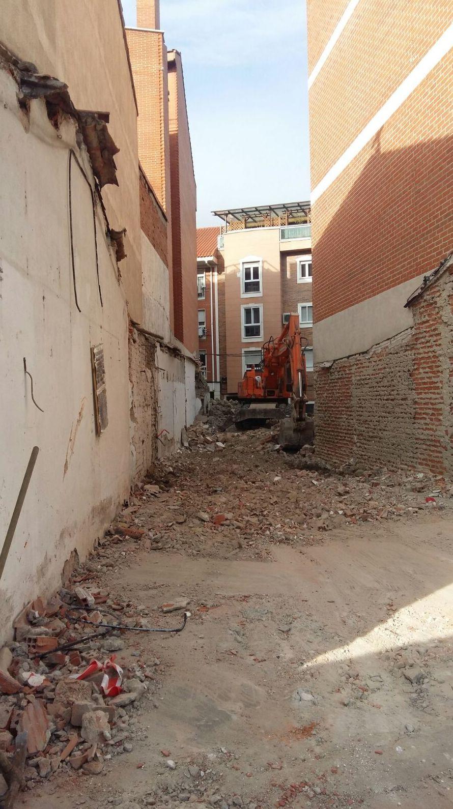 DERRIBOS ESPECIALIZADOS MADRID-TOLEDO-CUENCA-GUADALAJARA