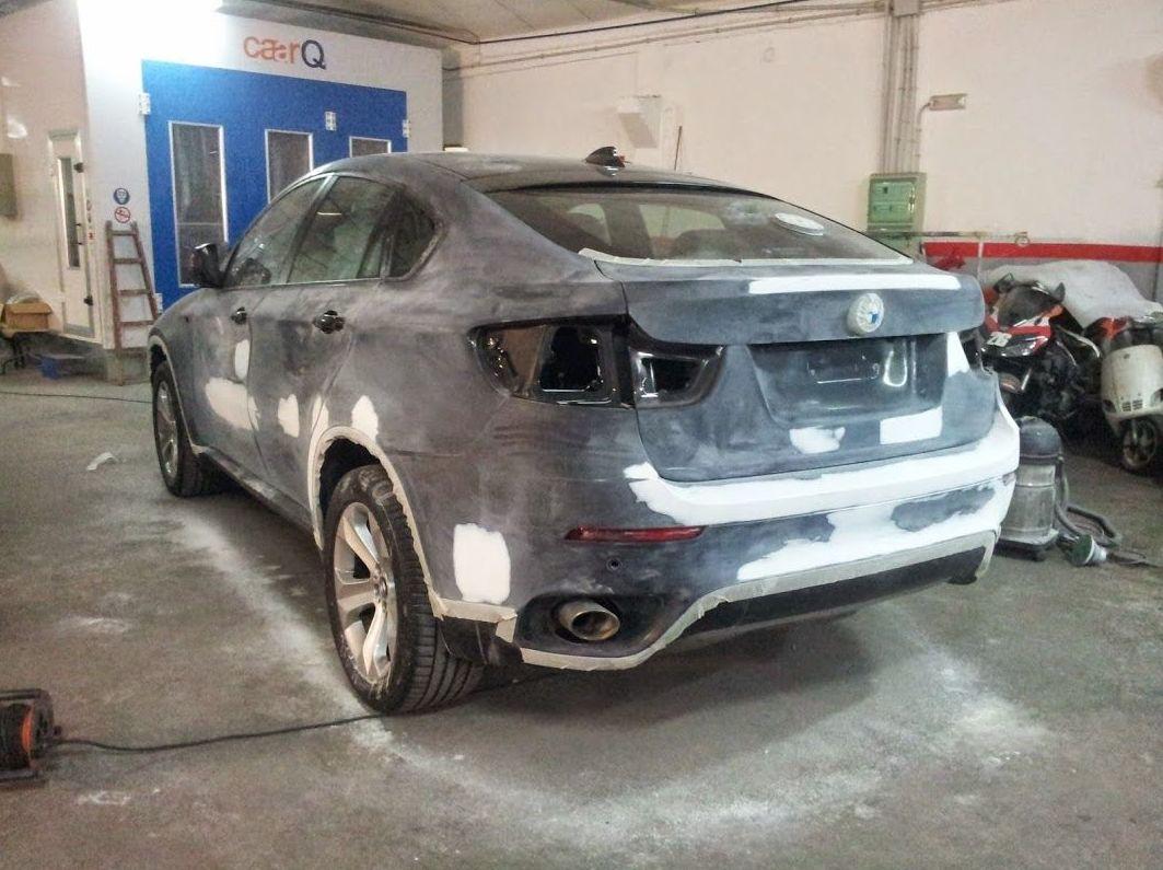 Chapa y pintura para coches de todos los modelos
