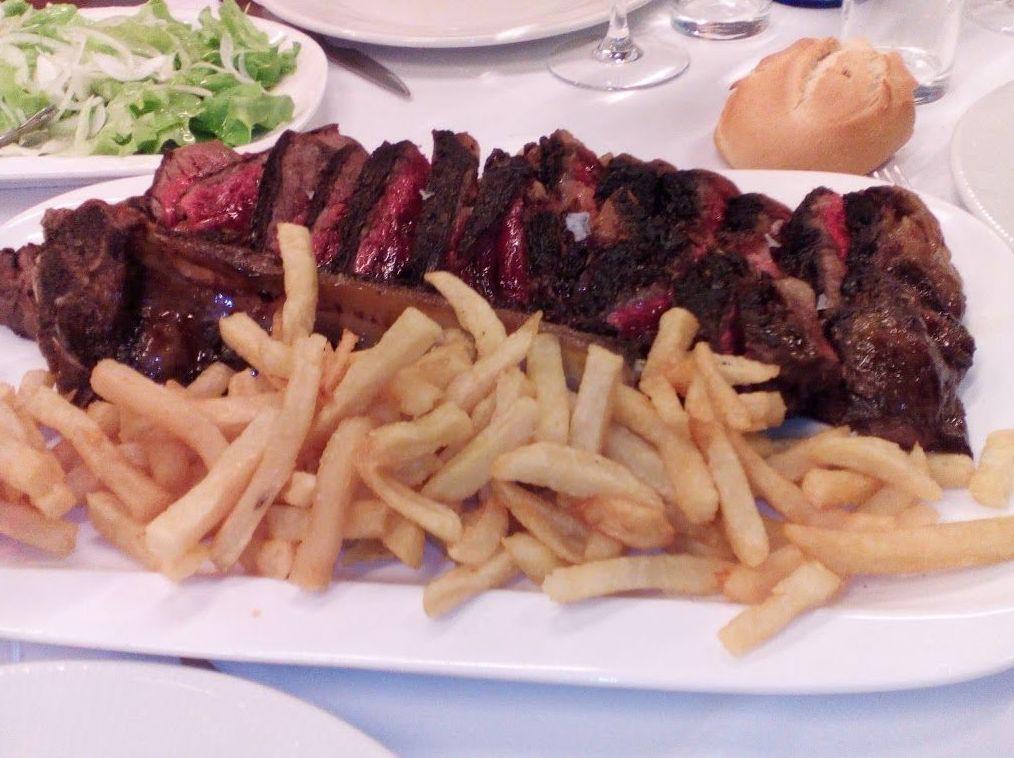 Restaurante con cocina vasca en Bilbao