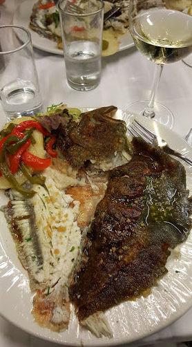 Pescados variados en nuestro menú