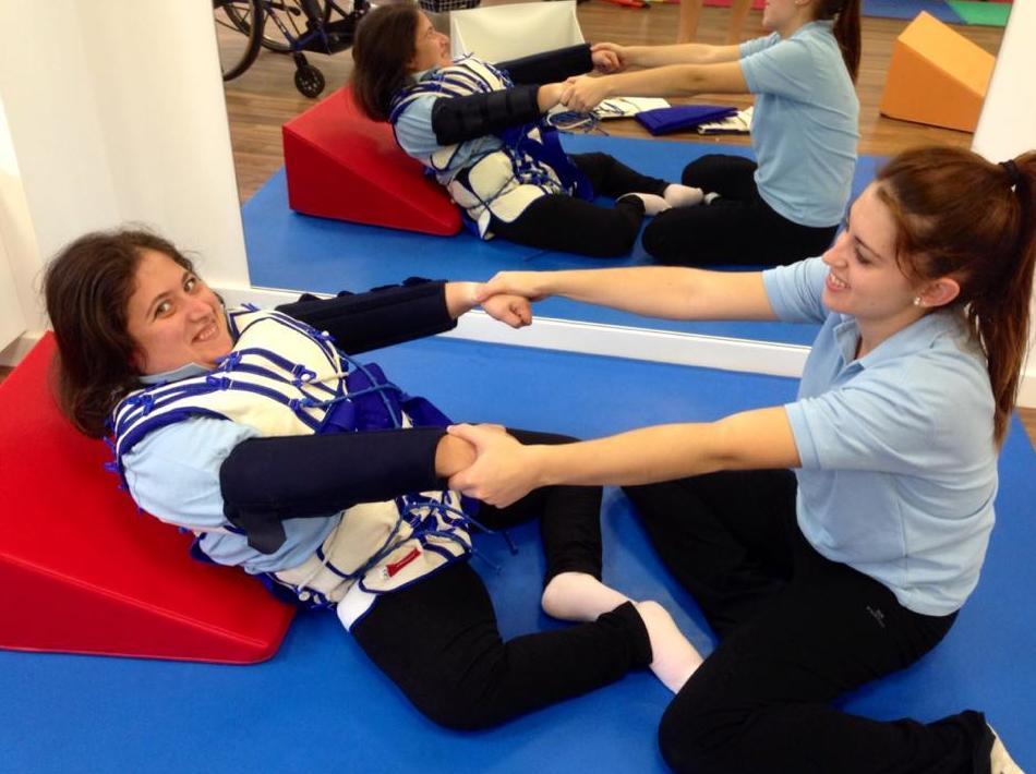 Método Therasuit indicado para personas con espina bifida