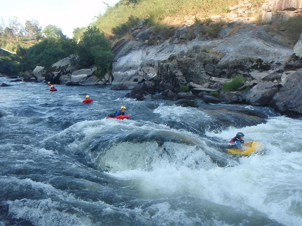 Organización de actividades de rafting