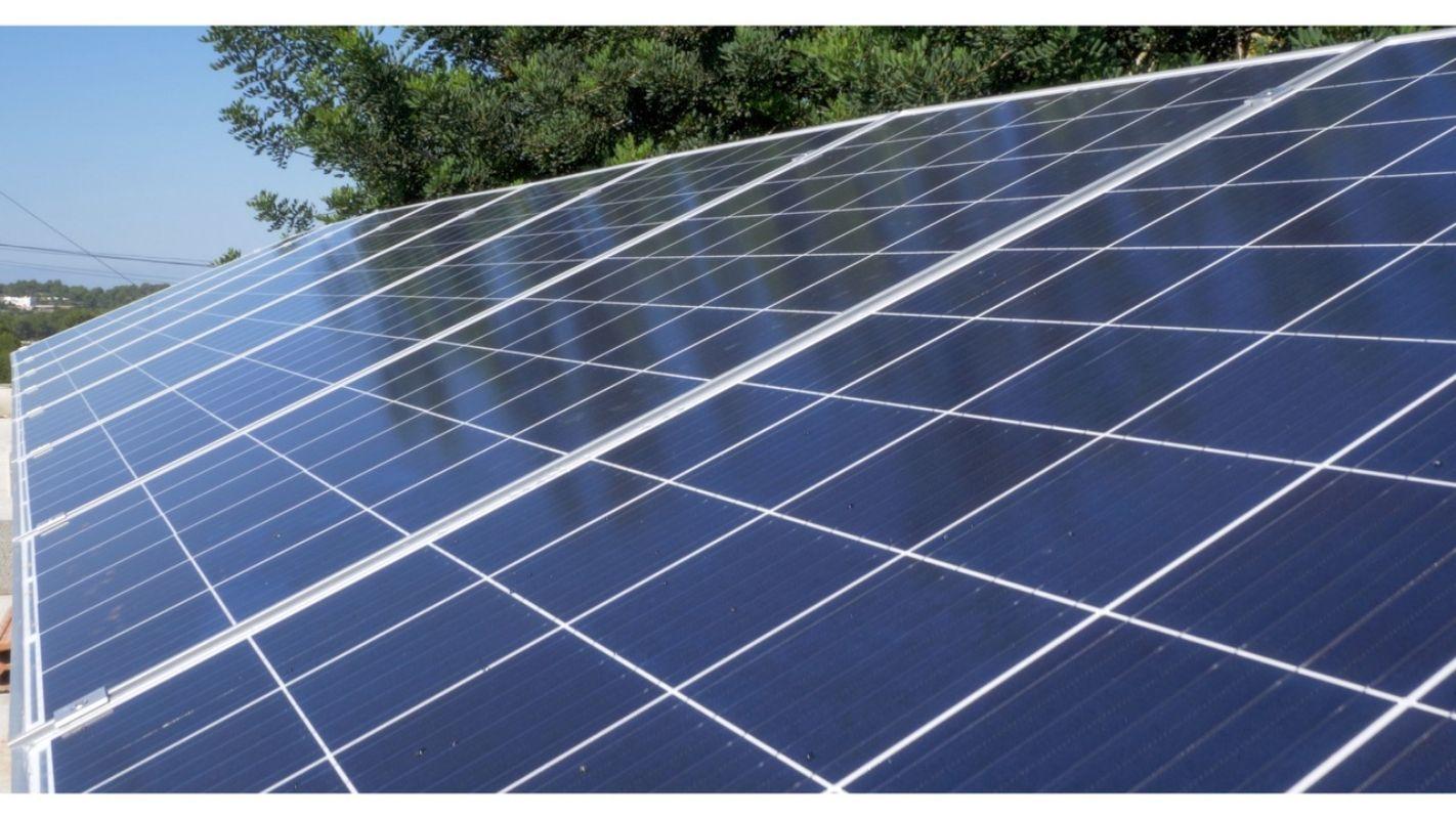 Instalación solar en la Granja Can Cristofol