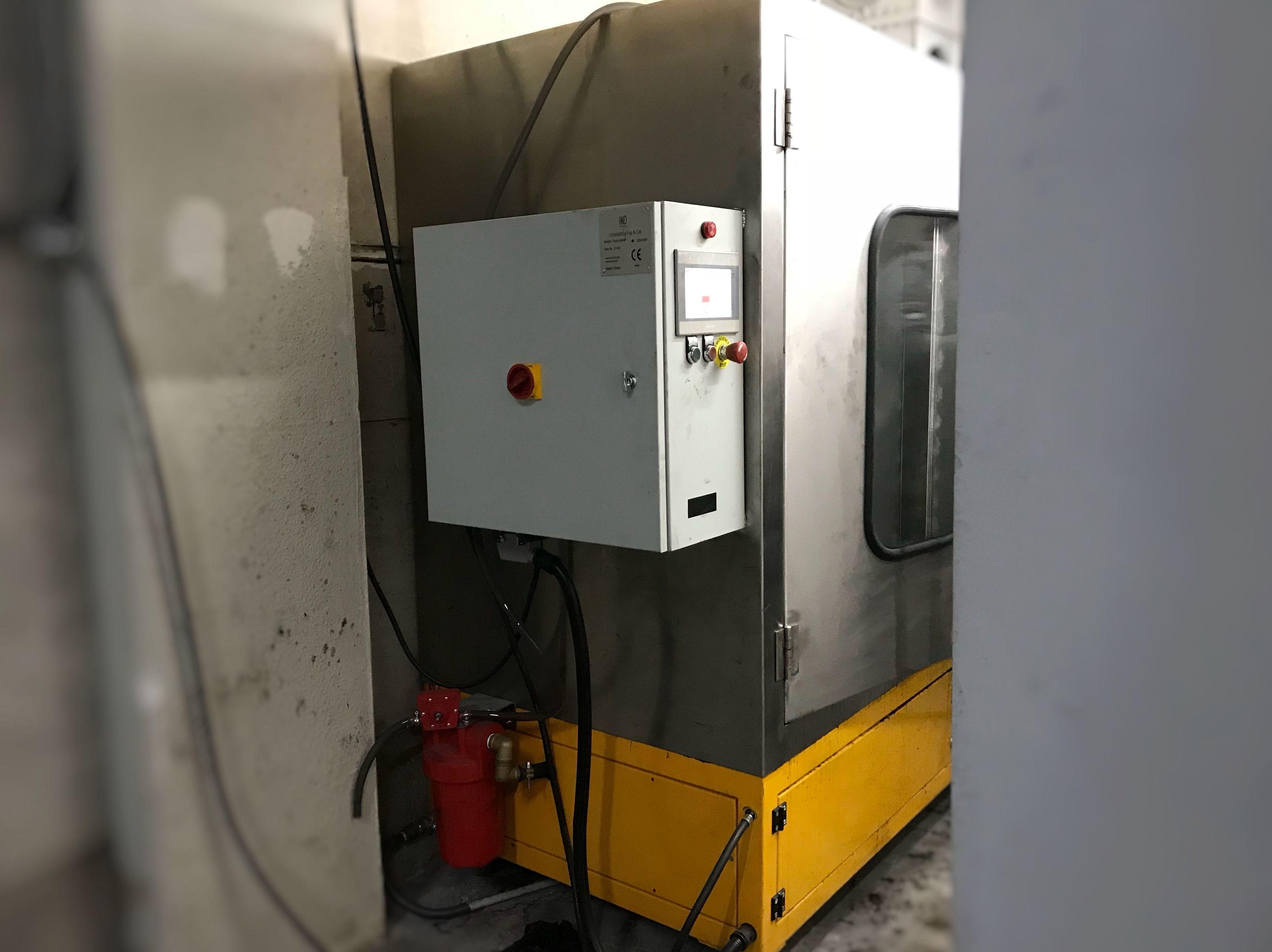 Máquina de limpieza de filtro de partículas en Madrid Huracán motor