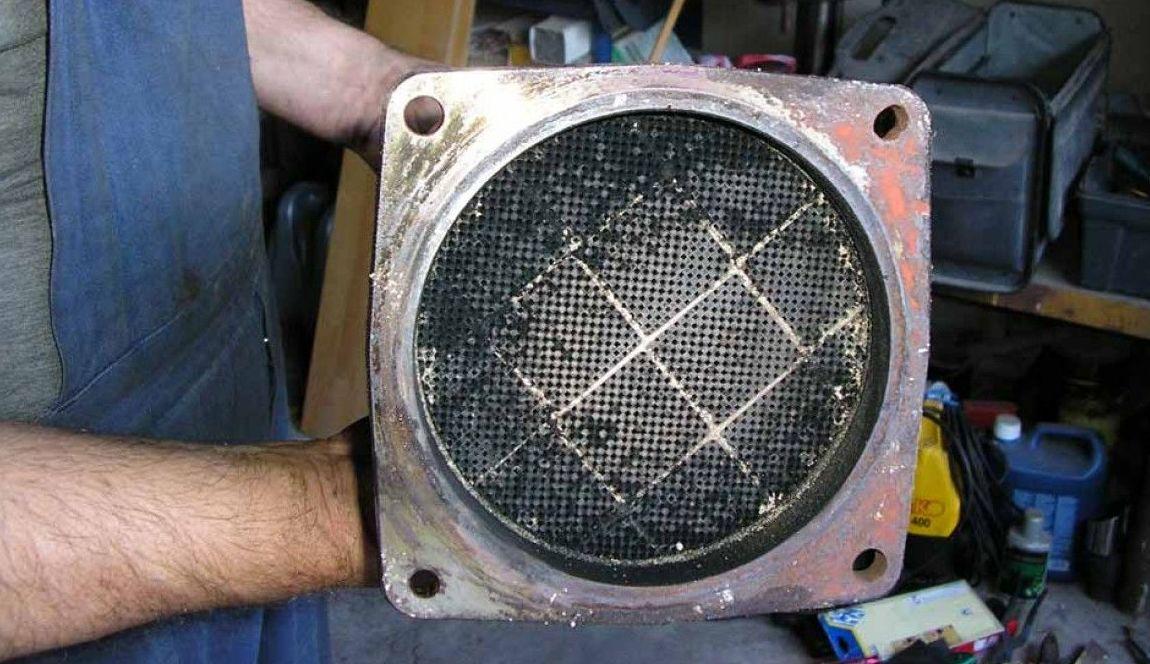 Filtro para hacer mantenimiento