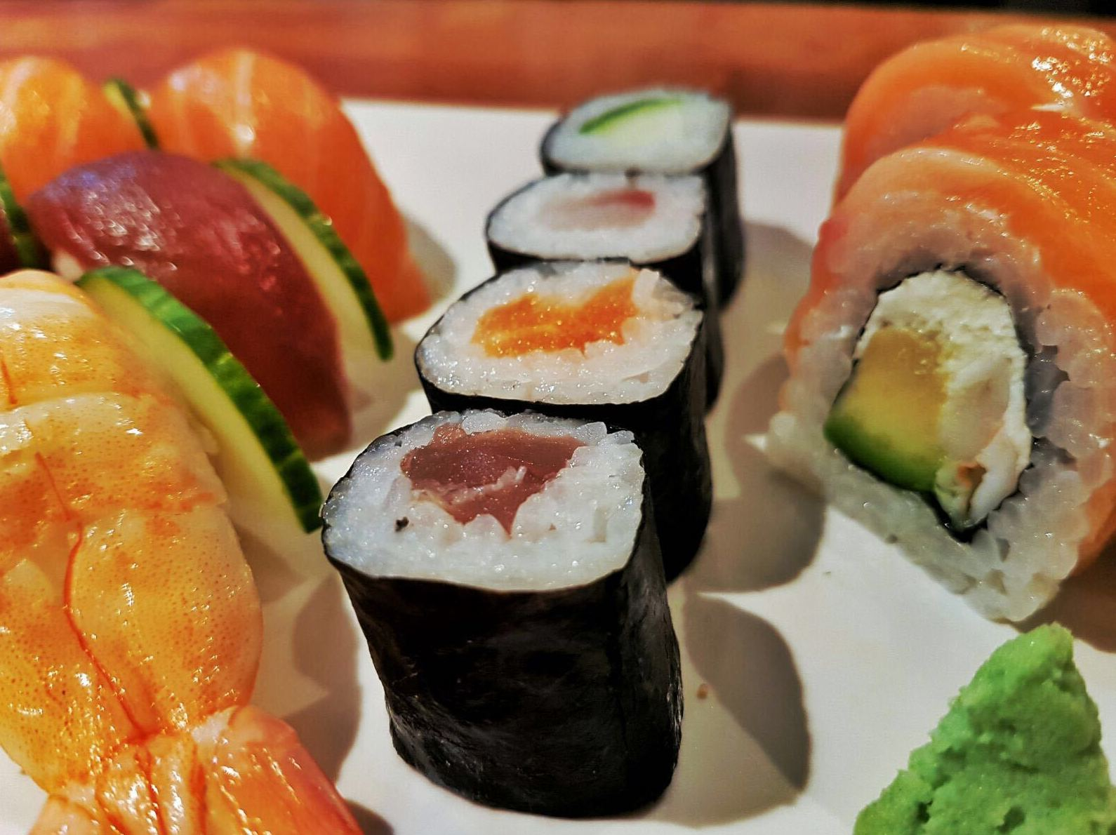Makis (4 piezas - 4 pieces): Carta de Sushis Ibiza